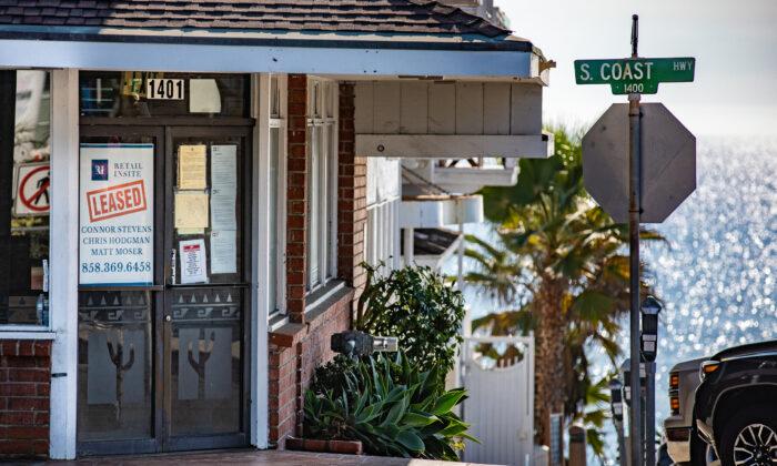 The Coast Inn in Laguna Beach, Calif., on Oct. 15, 2020. (John Fredricks/The Epoch Times)