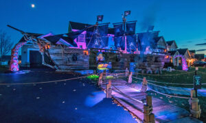Amazing Father Built His Daughter an Impressive 50-Foot Pirate Ship for Halloween