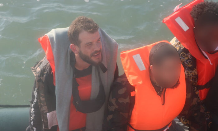 Thirty-year-old Iraqi national Assad Abdul Latif Sayed Abdulghany jailed Oct. 30 for steering a boat across the English Channel, smuggling himself and 16 others on Sept. 15, 2020. (Courtesy of the Home Office)