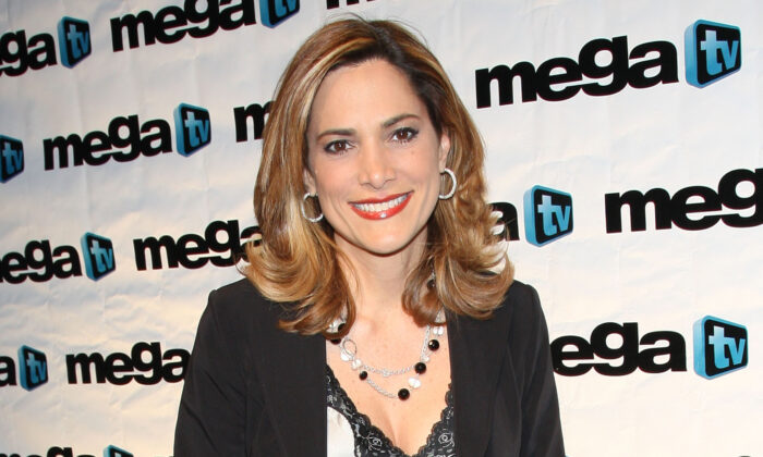 Maria Elvira Salazar attends the SBS-Mega TV Up Front at Guastavino's in New York City on April 24, 2008. (Jason Kempin/Getty Images)