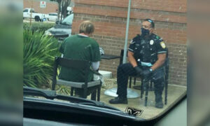 Officer Praised for His 'Human-to-Human' Response to Enraged Man, Witness Moved to Tears