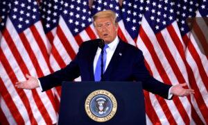Trump Says He Won in Pennsylvania, North Carolina, Georgia