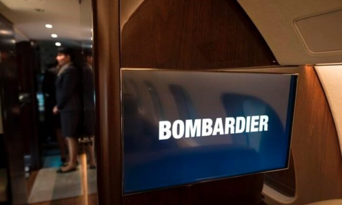 The interior of the Bombardier Global 7500 jetliner is photographed during a press conference event in Mississauga, Ont. on Dec. 4, 2019. (The Canadian Press/ Tijana Martin)