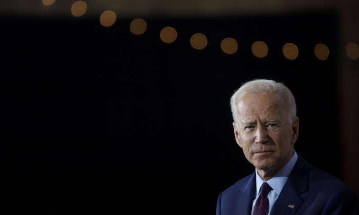 Democratic presidential candidate and former Vice President Joe Biden in Burlington, Iowa, on Aug. 7, 2019. (Tom Brenner/Getty Images)