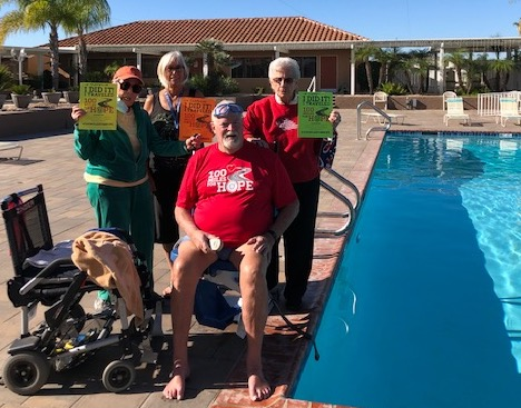 Charlie Parker is a United States Navy veteran. He swam 100 miles in 89 days for the American Legion. (Courtesy of Charlie Parker)