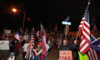 Trump Supporters Protest in Nevada