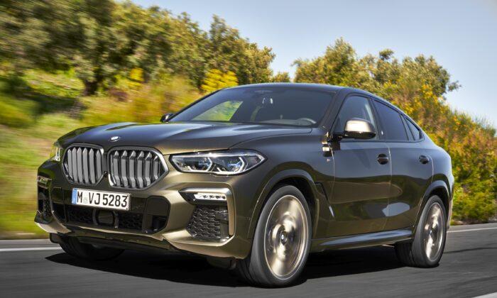 2020 BMW X6. (Courtesy of BMW)