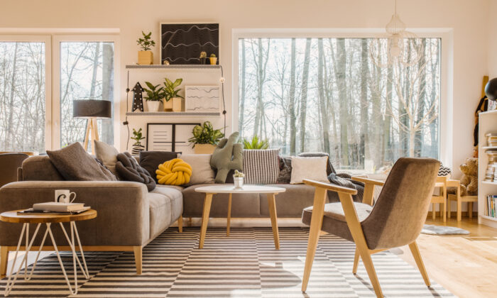 These great rooms offer you plenty of space for creativity. (Photographee.eu/Shutterstock)