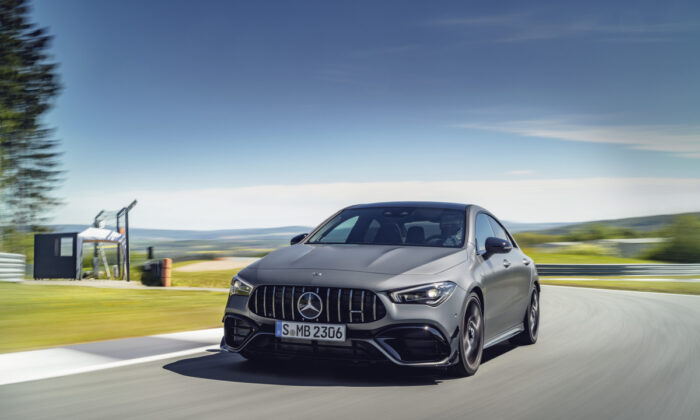 2020 Mercedes-AMG CLA 45. (Courtesy of Mercedes-Benz)