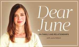 Dear June: Looking for Polite Ways to Cut Off a Conversation
