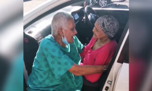 Hospitalized Elderly Man's Reunion With Wife of 52 Years Goes Viral: 'True Love'