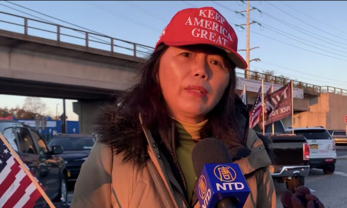 Chinese Voter in an Interview with NTD (New Tang Dynasty Television).