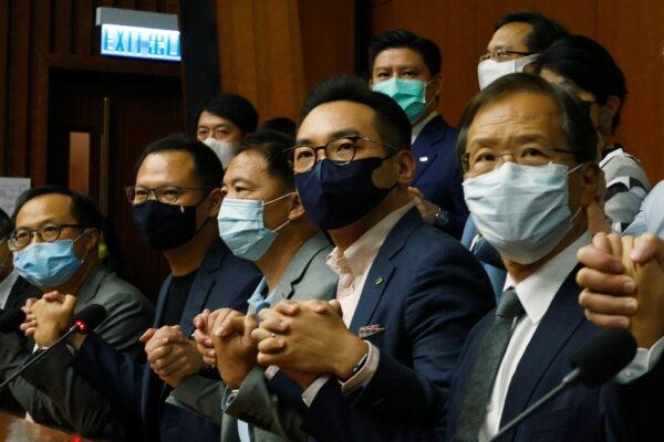 Pan-democratic legislators