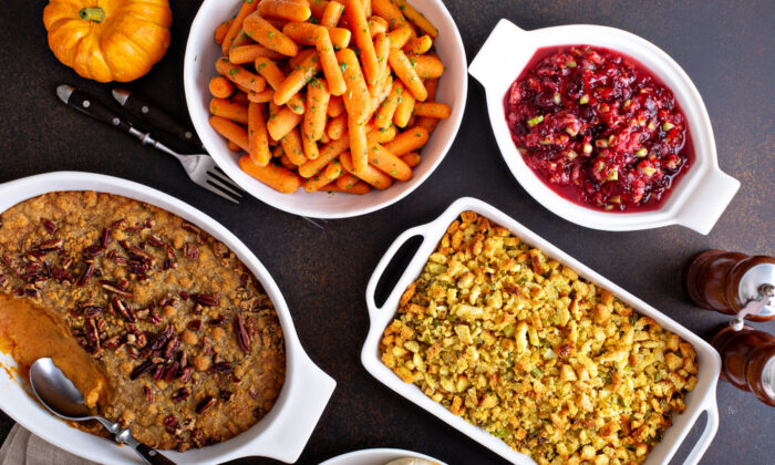 Thanksgiving is all about the sides. (Elena Veselova/Shutterstock)