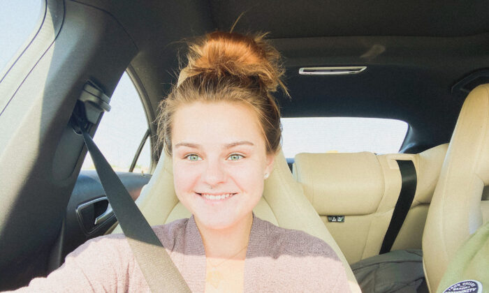 """For more than a decade, Devin Clevenger suffered from suicidal depression. Along the way she learned to change her outlook on life. Now, """"I'm just a positive, happy person,"""" she said. (Courtesy of Devin Clevenger)"""