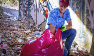 Eco-Friendly North Carolina Man Picked Up 7,000 Bags of Trash and Started a Movement