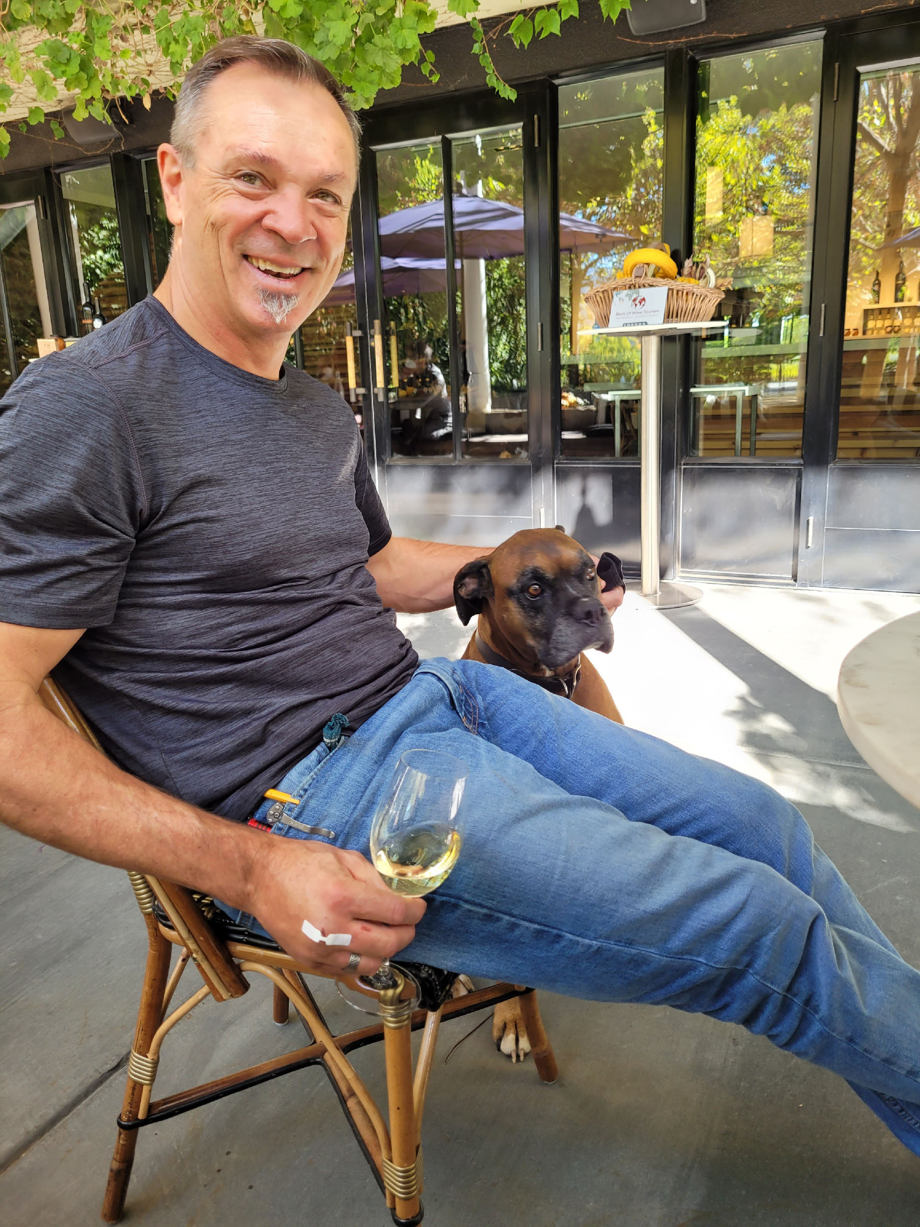 Winemaker Michael Scholz