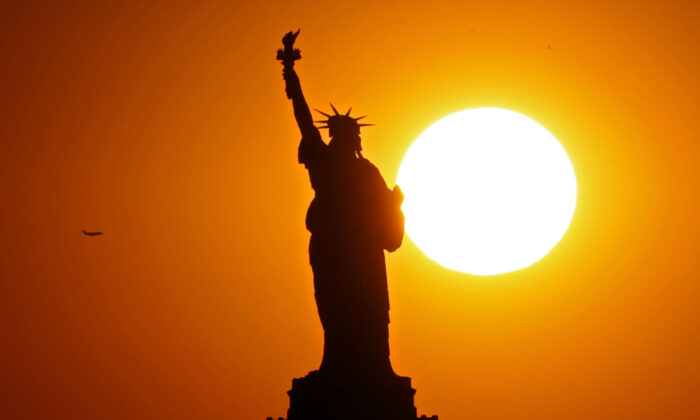 The Statue of Liberty in New York City on June 2, 2017. (Michael Heiman/Getty Images)