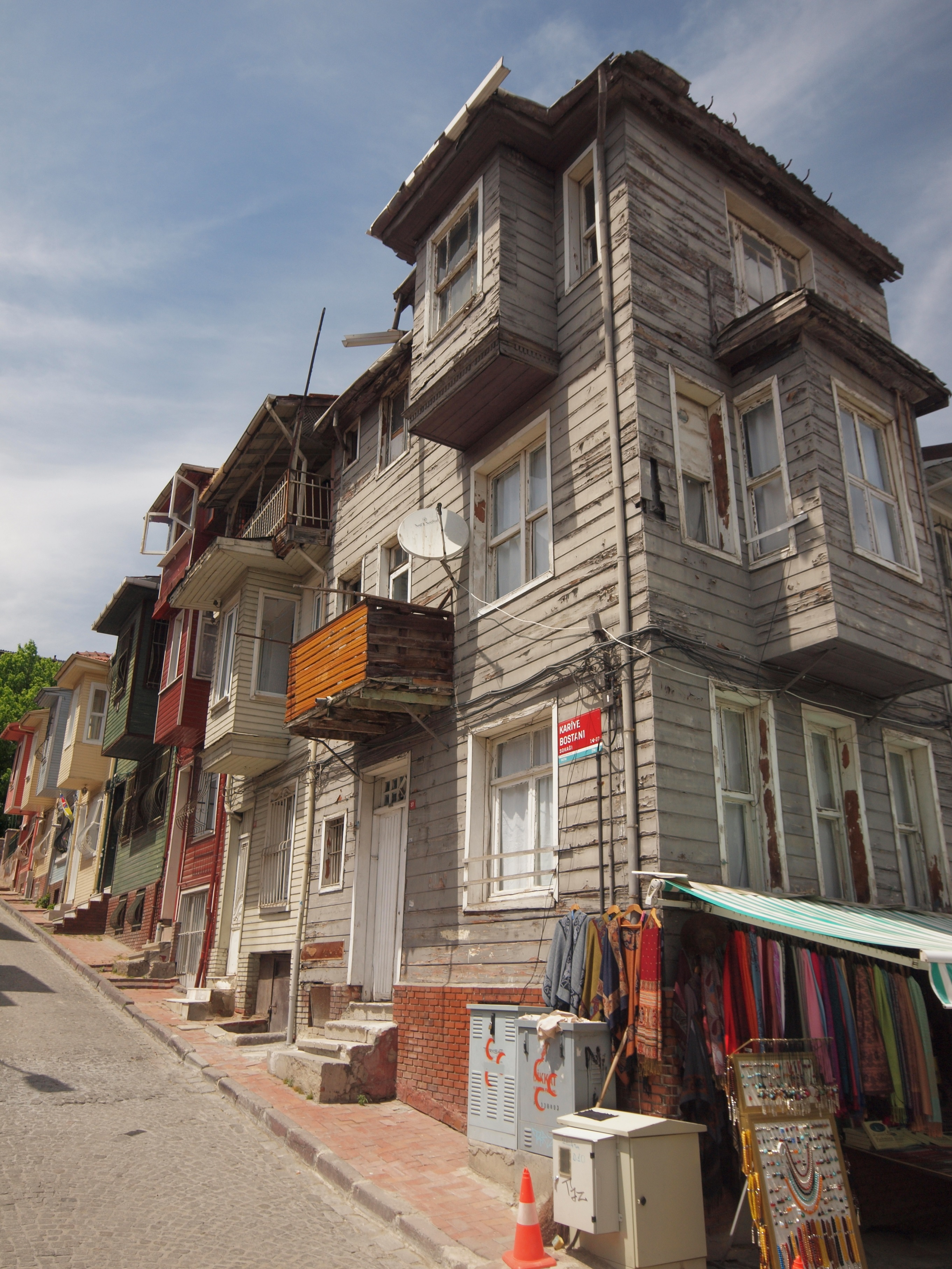 Old wooden Ottoman Period houses