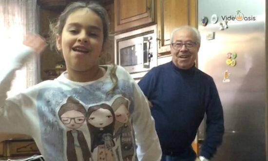 "Grandpa ""Steals"" The Show"