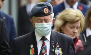 UK Comes Together in Distant Silence on Armistice Day