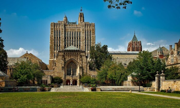 A view of Yale University is seen on this file photo. (David Mark/Pixabay)