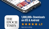 Epoch Times #1 in App Store Newspaper Category