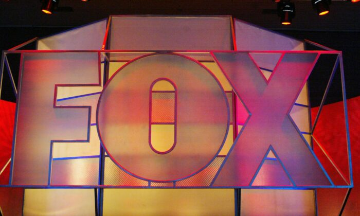 The Fox Network logo is displayed at the Hilton Universal Hotel, in Universal City, Calif., on Jan. 17, 2005. (Frederick M. Brown/Getty Images)