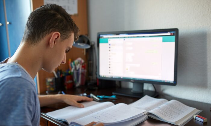 Distance learning has health consequences. (Slatan/Shutterstock)