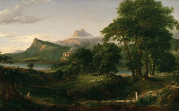 Cole_Thomas_The_Course_of_Empire_The_Arcadian_or_Pastoral_State_1836_
