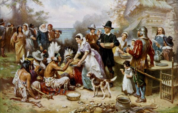 The_First_Thanksgiving_Jean Louis Gerome Ferris_