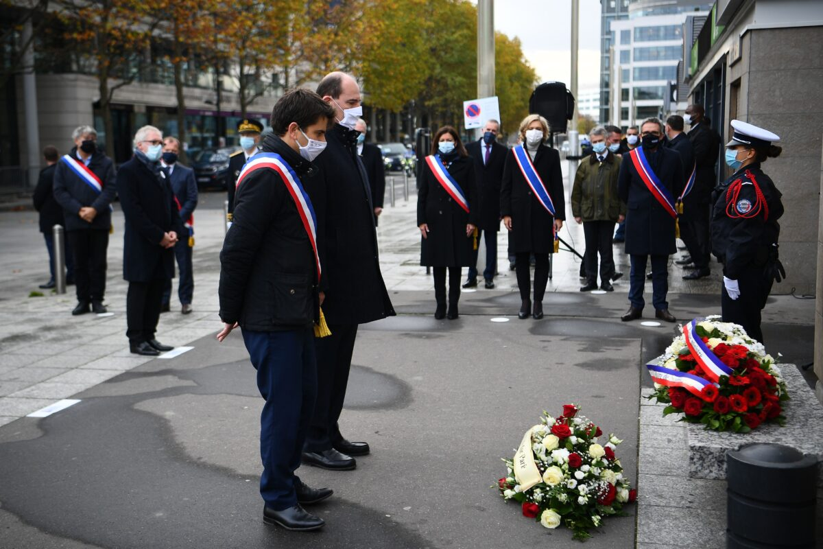 France terror anniversary