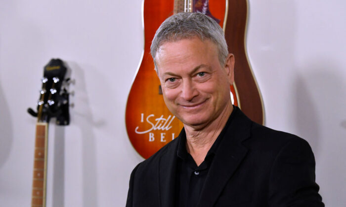 """Gary Sinise attends the premiere Of Lionsgate's """"I Still Believe"""" at ArcLight Hollywood on March 7, 2020, in Hollywood, Calif. (Frazer Harrison/Getty Images)"""
