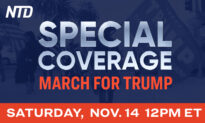 Programming Alert: NTD Special Live Coverage of Marches for Trump