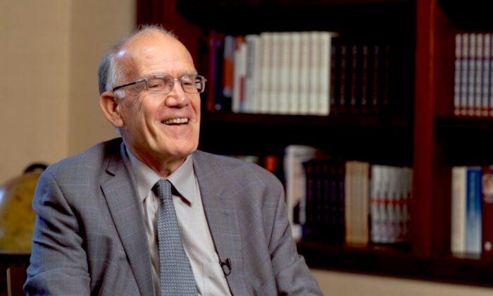 Classicist and historian Victor Davis Hanson. (The Epoch Times)