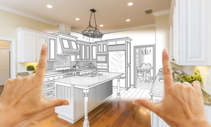 A kitchen remodeling project is the most common improvement to a home. (Andy Dean Photography/Shutterstock)