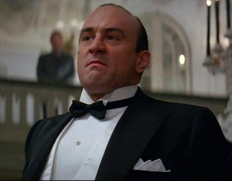 "man in tuxedo in ""The Untouchables"""