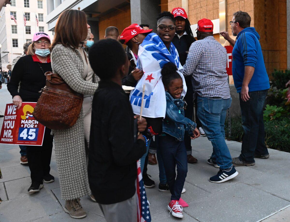 Trump supporters harrassed