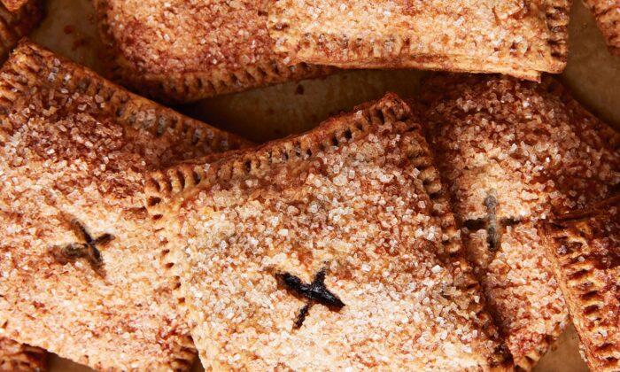 Erin Jeanne McDowell's concord grape hand pies. (Mark Weinberg)