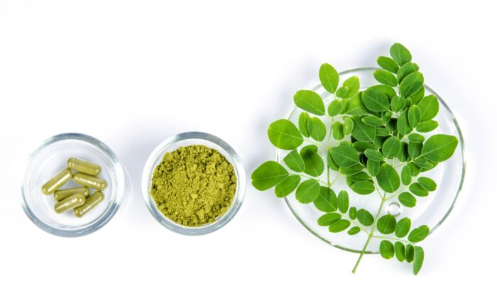 The moringa oleifera tree is stuffed with nutrients and compounds that have therapeutic benefits. (wasanajai/Shutterstock)