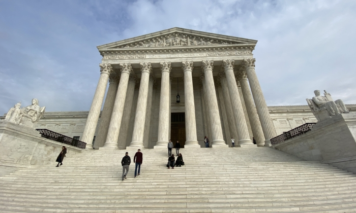 The U.S. Supreme Court in Washington on Feb. 1, 2020. (Daniel Slim/AFP via Getty Images)