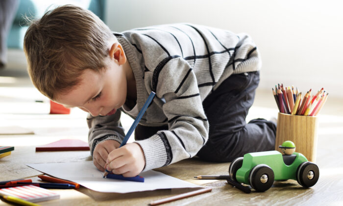 In the Montessori approach, it is important to never interrupt a focused child. (Rawpixel.com/Shutterstock)