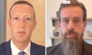 LIVE: Facebook, Twitter CEOs Facing Questions on Election Measures