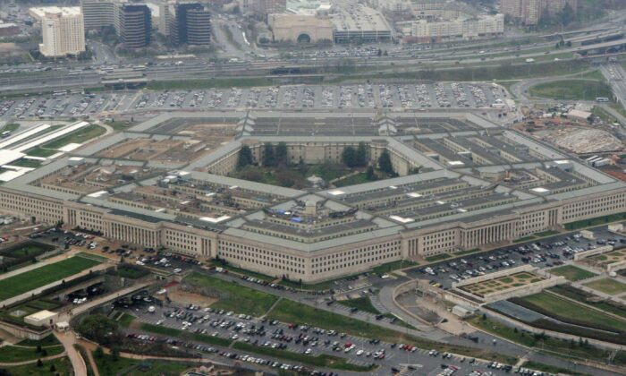 The Pentagon in Washington on March 27, 2008. (Charles Dharapak /AP Photo)