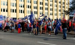 'Stop the Steal' Rally in Dallas, Texas