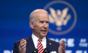 Biden Says His Family Will Adhere to Holiday Guidance Amid CCP Virus Pandemic