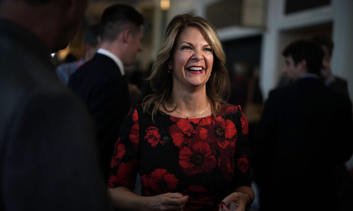 Arizona Republican Party Chairwoman Kelli Ward attends an event in National Harbor, Md., on Feb. 22, 2018. (Alex Wong/Getty Images)