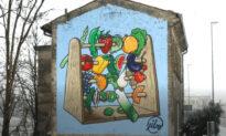 How Italian Street Artist Fights Neo-Fascism?