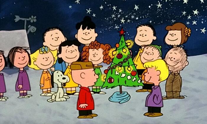 "The original gang of ""A Charlie Brown Christmas."""