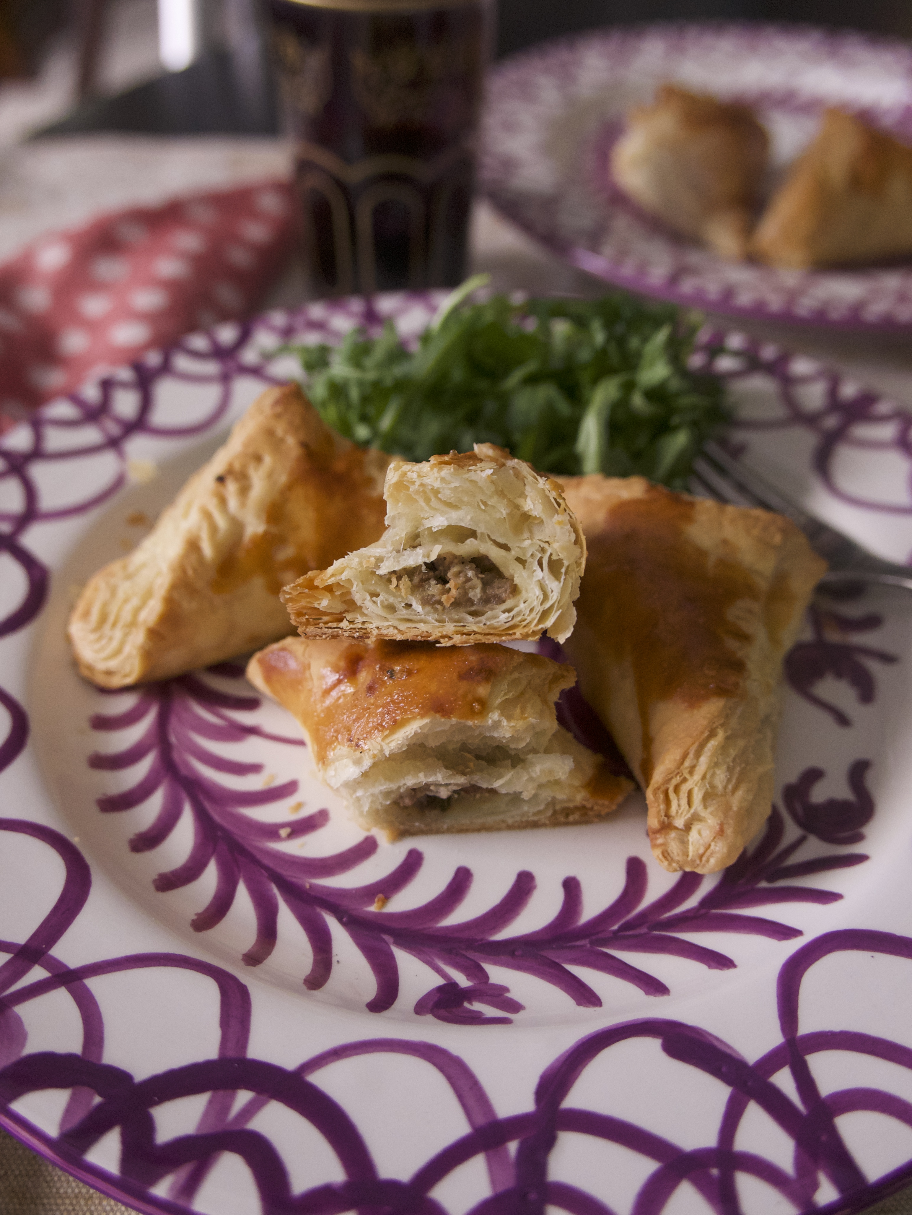 stuffing turnovers